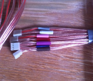 Fuse cable bundle